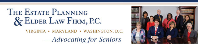 ElderLaw News-The Estate Planning & Elder Law Firm, P.C. — MD, VA, DC
